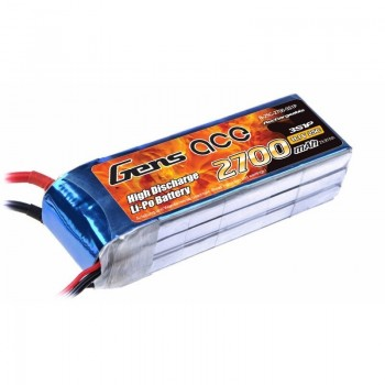 Bateria LiPo 3S 2700mAh 11.1V 25C Gens Ace