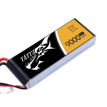 LiPo Battery 4S 9 000 25/50C TATTU