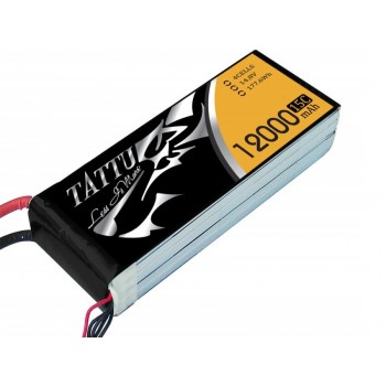 LiPo Battery 4S 12 000 15/30C TATTU