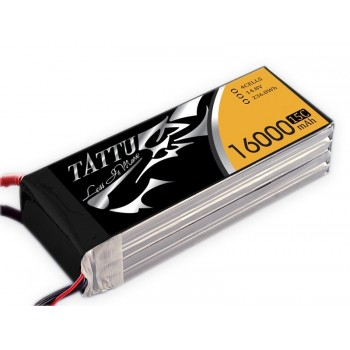 LiPo Battery 16000 15/30C 4S TATTU