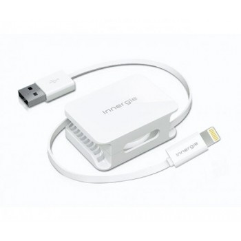 Zwijany kabel Lightning do USB 60cm - Innergie
