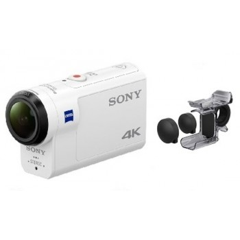 Sony ActionCam FDRX3000R + Pilot RM-LVR3 + Ręczny uchwyt
