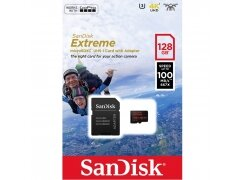 Karta Pamięci SanDisk Extreme Micro SDXC 128GB 100MB/s 667x