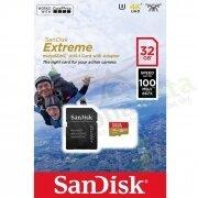 SanDisk Extreme microSDHC UHS-I 32GB 100MB/s 667x