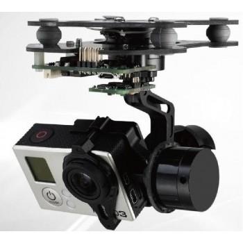 DYS - Gimbal 3-osiowy pod GoPro + Kontroler AlexMos 8Bit