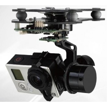 Gimbal 3-axis for GoPro HERO 3/4 + AlexMos 8bit