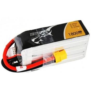 LiPo Battery 6S 1800 45C TATTU