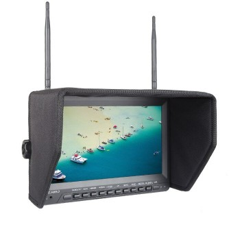 "LED 10.1"" Monitor FPV witch recorder PVR 32CH 5,8GH"