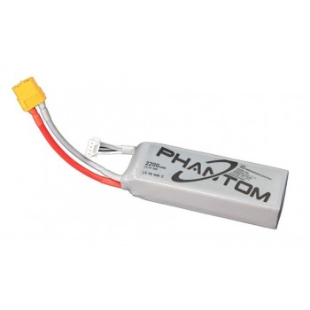Phantom Battery (11.1V 2200mah 20C / XT60 Plug) - Parts 12