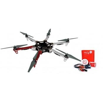 F550-E305 + NAZA-M LITE + GPS + Podwozie