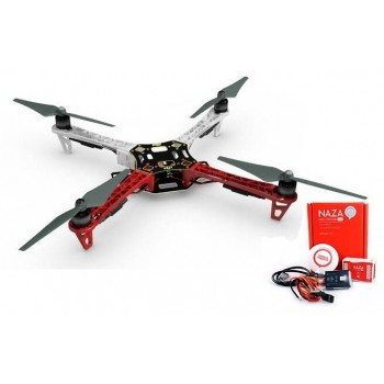 F450-E305 + NAZA-M LITE + GPS + Podwozie