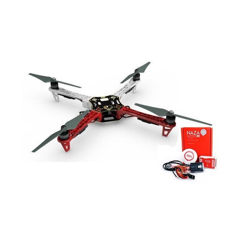 F450 + NAZA-M LITE + GPS + Podwozie