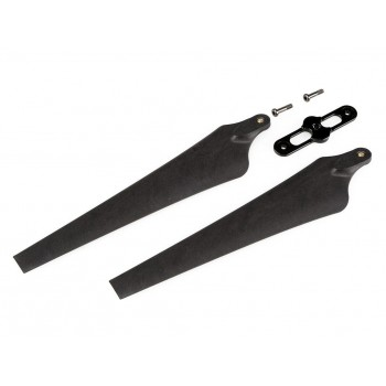 S800 1552 CW Foldable Propeller (2 Sets) witch black Propeller Cover
