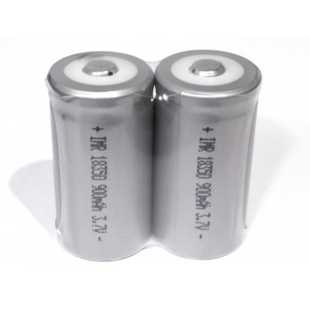 Batteries 18350 900mAh 3.7V (2 pcs) - FY