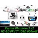 Zestaw Phantom 2 H3-3D FPV Bateria