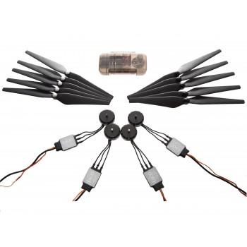 DJI E600 (4 silniki/ESC, śmigła i akcesoria) dla quadrocopter
