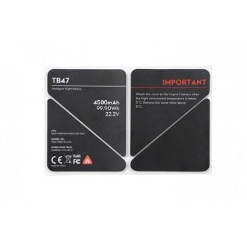 DJI Inspire 1 TB47 Battery Insulation Sticker Parts 50