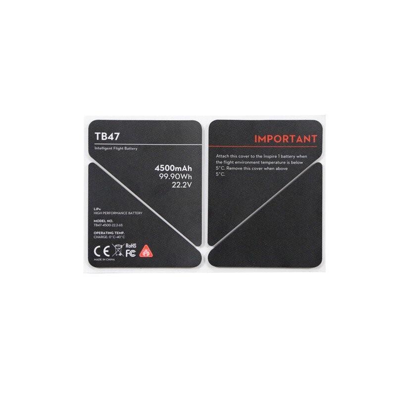 Naklejka izolacyjna baterii - Inspire 1