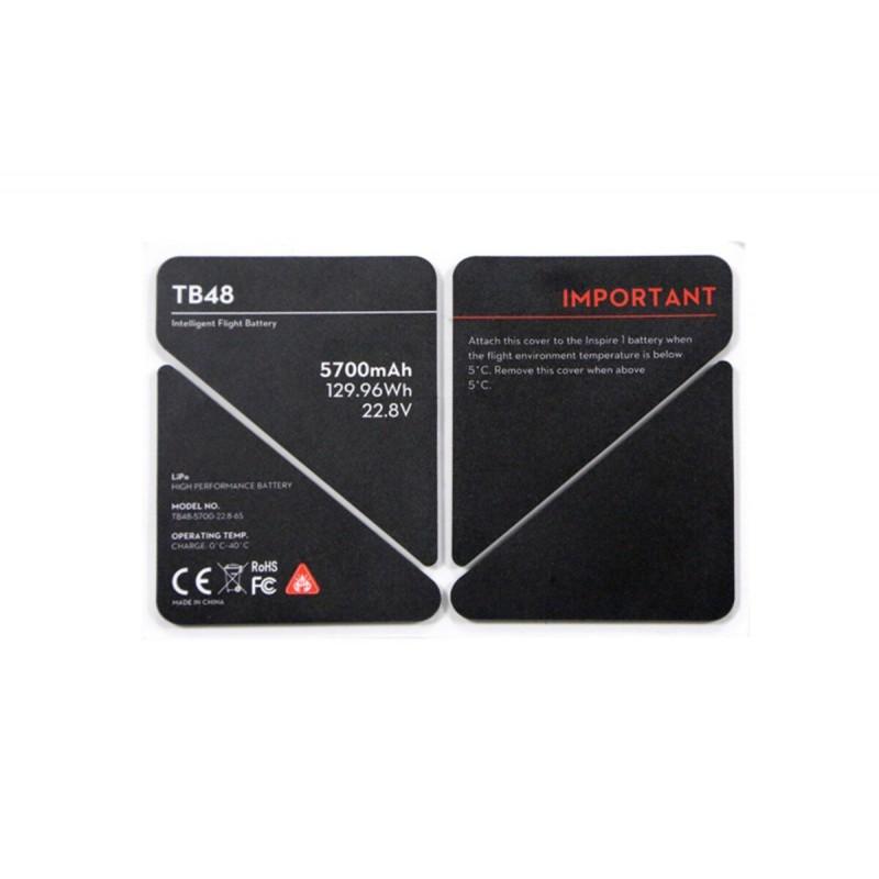 Naklejka termoizolacyjna baterii TB48 - Inspire 1