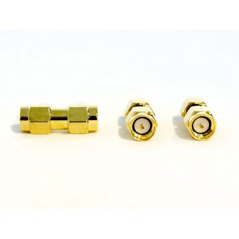 Coaxial Connector SMA male to RP SMA male 1 pc.