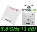 Antena Panelowa SpiroNET Patch - 5.8GHz RHCP
