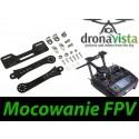 Mocowanie Monitora FPV Uchwyt do nadajnika