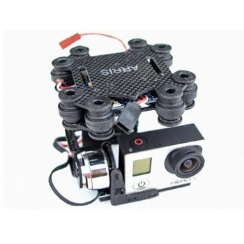 Bezszczotkowy Gimbal Arris CM2000 2-osiowy DJI Phantom - GoPro 3
