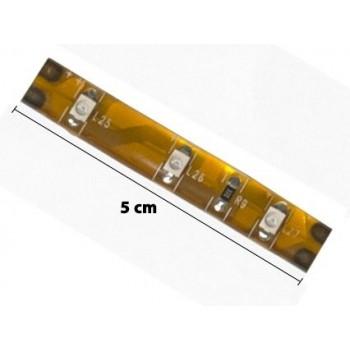 Taśma LED Zewnętrzna kolor czerwony 5cm 3 LED