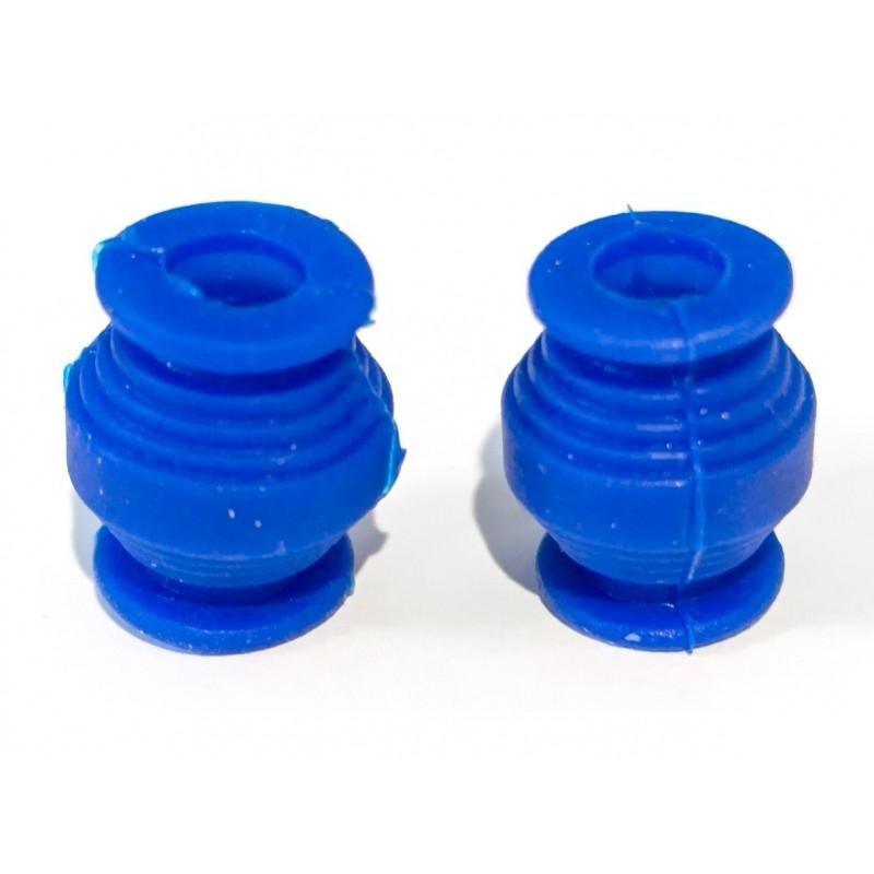 Amortyzatory gumowe 150g 1szt. niebieskie
