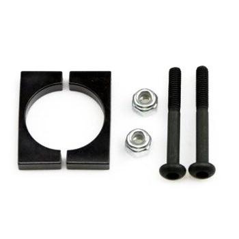 Uchwyt CNC na rurkę - Boom Block średnica 25mm - czarny