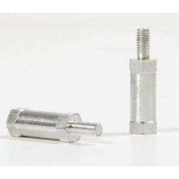Tuleja dystansowa 10mm (+6mm bolec) M3