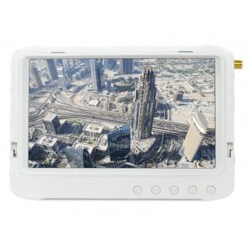 """Monitor FPV 5"""" z Nagrywarką DVR 5,8GHz 32CH (Biały)"""