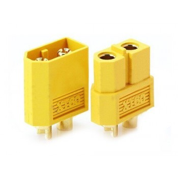 Connector XT60 male and female set