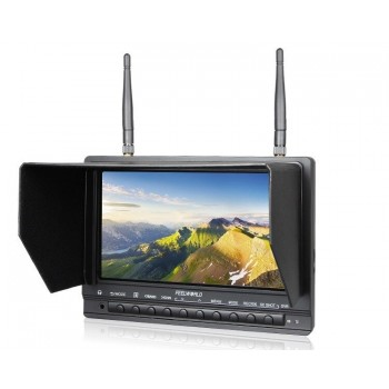 "LED 7"" Monitor FPV witch recorder PVR 32CH 5,8GHz"