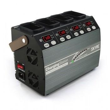 Stacja ładująca 4 baterie 4P3 100W + adapter - Phantom 3 i Phantom 4