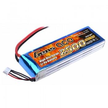 Bateria LiPo 3S 2500mAh 11.1V 25C Gens Ace