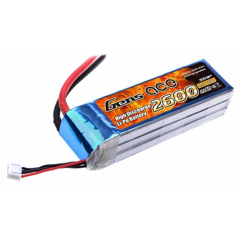 Bateria LiPo 3S 2600mAh 11.1V 25C Gens Ace