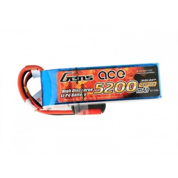 Gens ace 2500mAh 11.1V 25C 3S1P Lipo Battery