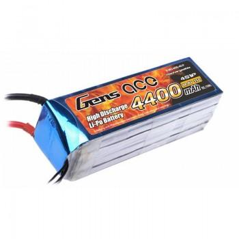 Bateria LiPo 4000mAh 14.8V 60C 4S1P Gens Ace
