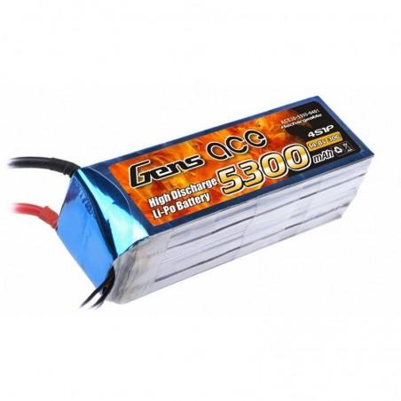 Bateria 5300mAh 14.8V 30C 4S1P Gens Ace