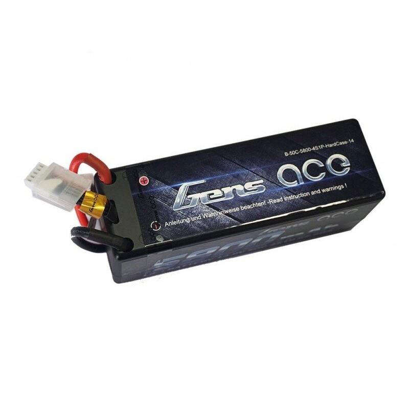 Bateria 5500mAh 14.8V 25C 4S1P Gens Ace