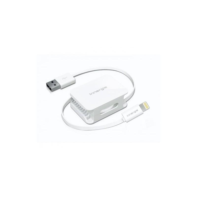 Zwijany kabel Lightning do USB 60cm - Innerge