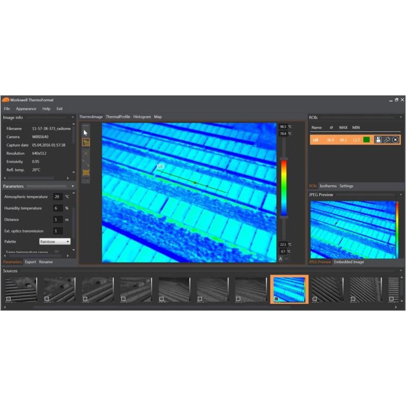 Oprogramowanie Workswell ThermoFormat - licencja