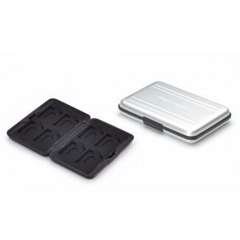 PGYTECH Memory Card Case Silver