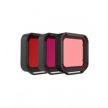 Filtry wodne dla GoPro (czerwony, magenta i różowy) - PolarPro