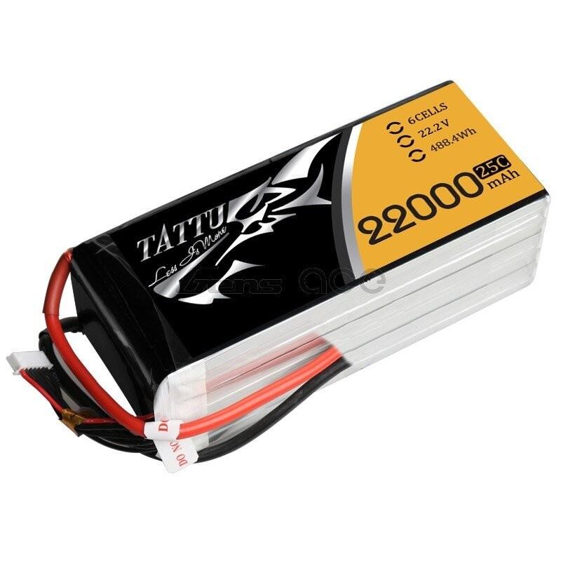 Lipo 6S 22 000 25C TATTU
