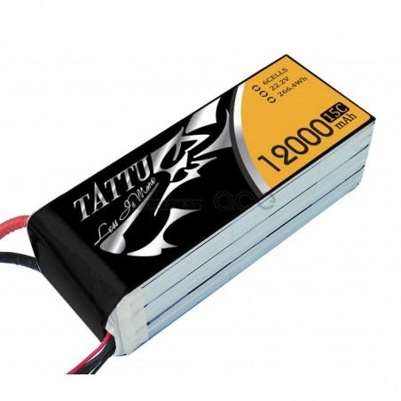 Lipo 6S 12000 15/30C TATTU