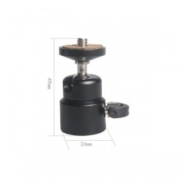 Głowica kulowa CAMROCK H005 MINI gwint 1/4 cala