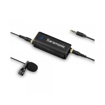 Adapter audio Saramonic LavMic z mikrofonem krawatowym