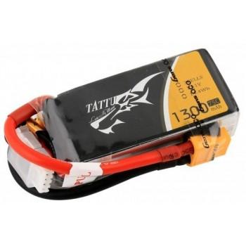 Bateria LiPo Tattu 1300mAh 11,1V 75C 3S1P